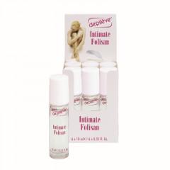 Depilève® Intimate Folisan Gel Roll-on, 6x8 ml