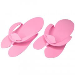 Pedi-Slipper pink, 50 Paar