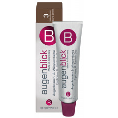 Berrywell Wimpernfarbe 3, naturbraun 15 ml