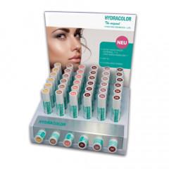 Aufsteller für Hydracolor Lippenpflegestift