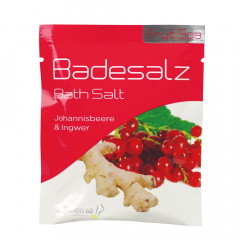 BADESALZ JOHANNISBEERE & INGWER 40 g