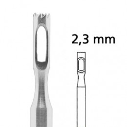 'PEDICE Hohlfräser gezackt. Ø 2,3 mm'