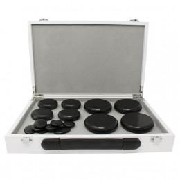 'Hot Stone Heating Box mit 16 Steinen'