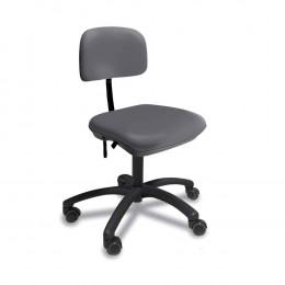 'Stuhl small ohne Armlehne, platingrau'