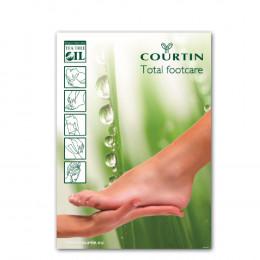 'COURTIN Poster Fußpflege'