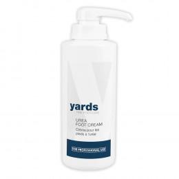 'yards UREA FOOT CREAM 500 ml - mit Spender'