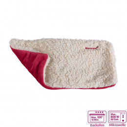 'Warmies Hot-Pak® Sherpa beige/fuchsia'