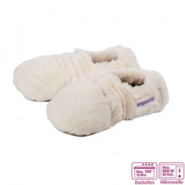 'Warmies Slippies® Deluxe creme, Gr. 36-40'