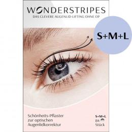 'Wonderstripes 84 Stück, Kombipackung S/M/L'
