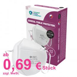 'Atemschutzmasken FFP2, Karton 10 Stück'