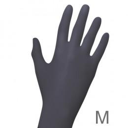 'Nitril BLACK Handschuhe 100, Gr. M (7-8)'