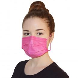 'OP-Mundschutz PROTECT PLUS Pink, 4-lagig, 50 Stück'