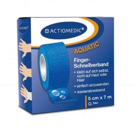 'Actiomedic® Schnellverband, blau, 5 cm x 7 m, selbsthaftend'