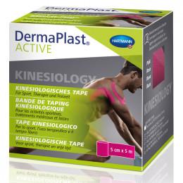 'DermaPlast ACTIVE Kinesio Tape pink, 5cm x 5m'