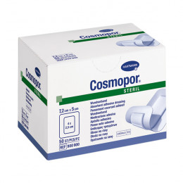 'Cosmopor Steril 7,2 cm x 5 cm, 10 Stück'