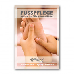 "'Poster ""Fusspflege""'"