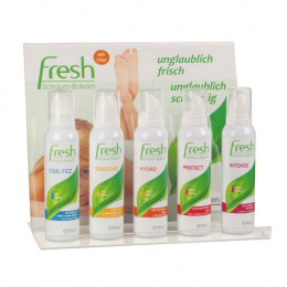 'Fresh-Paket mit Acryl-Display 30 x 150 ml'