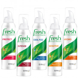 'Fresh Probier Set 5 x 150 ml Schaum-Balsam'