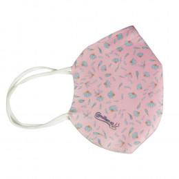 'Mund-Nasenmaske Camillen 60, pink'