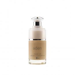 'ADEN Make-Up Cream Foundation, Nude (01) 15 ml'