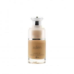 'ADEN Make-Up Cream Foundation, Natural (02) 15 ml'