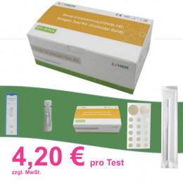 'Covid-19 Antigen Nasaltest, für 25 Schnelltests'
