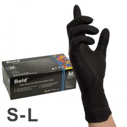 'Nitril BLACK BOLD Handschuhe, 100 Stück'