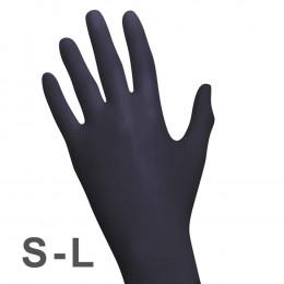 'RAUE Nitril BLACK 100 Handschuhe'