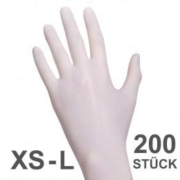 'Nitril Soft 200 Handschuhe, weiß'