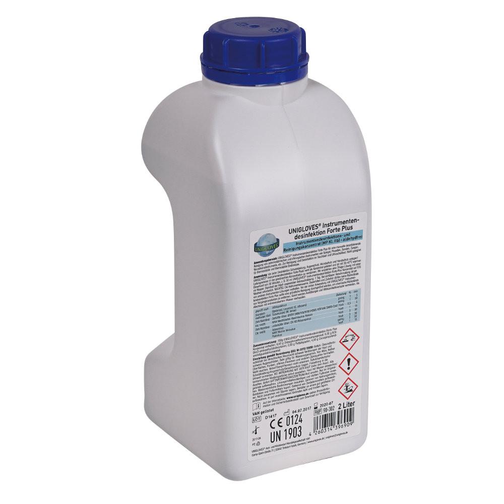 UNIGLOVES Instrumentendesinfektion Forte Plus 2 L
