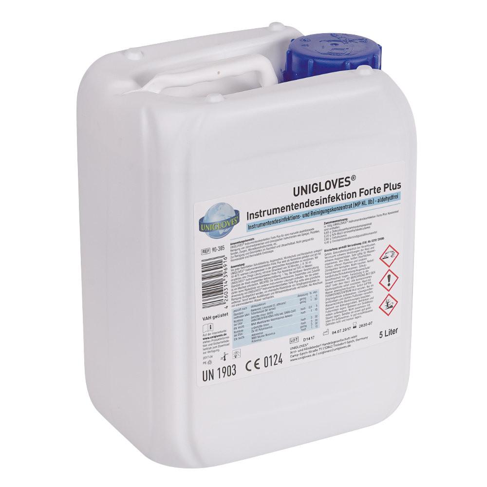 UNIGLOVES Instrumentendesinfektion, 5 L