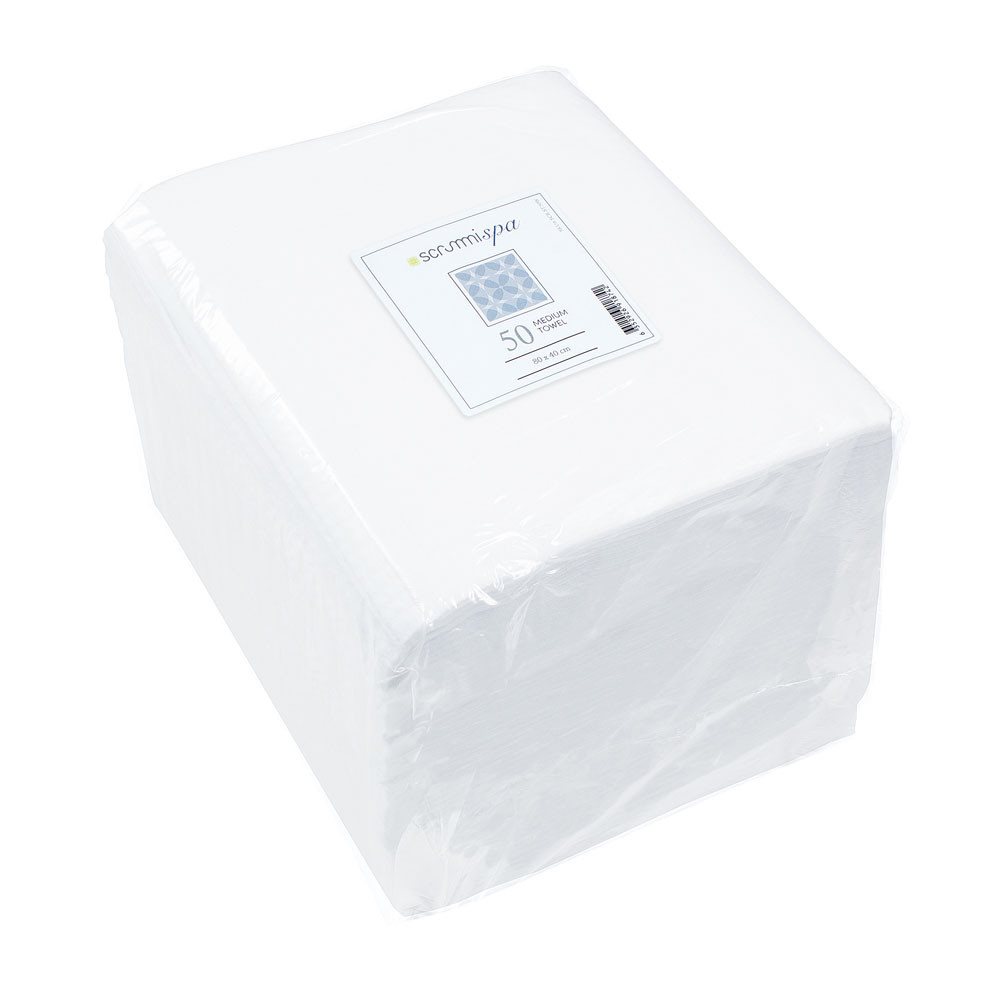 SCRUMMI Medium Handtuch 80 x 40 cm, 50 Stück