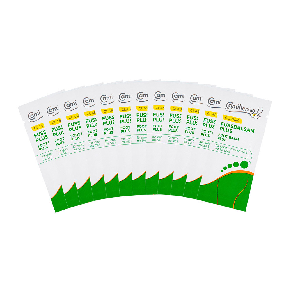 Proben-Set FUSSBALSAM PLUS 12 x 3 ml