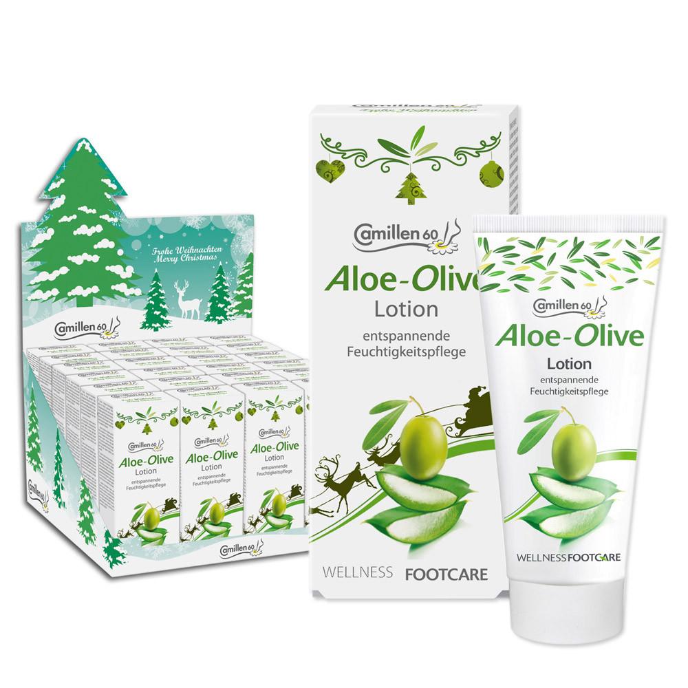 Lotion Aloe/Olive Weihnachten 30 ml