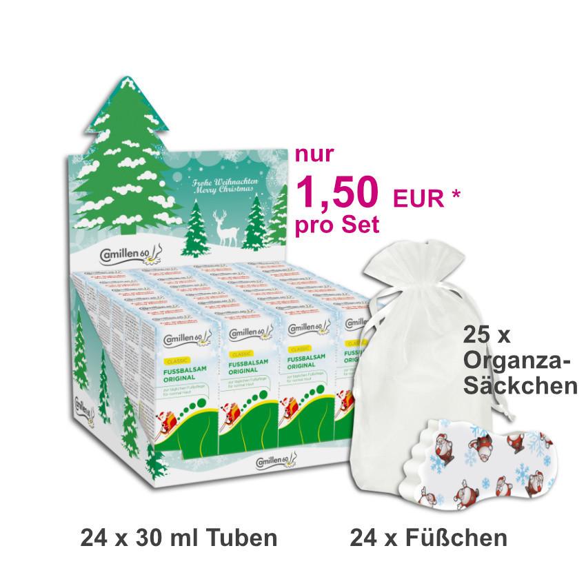 24 Weihnachts-Sets FUSSBALSAM