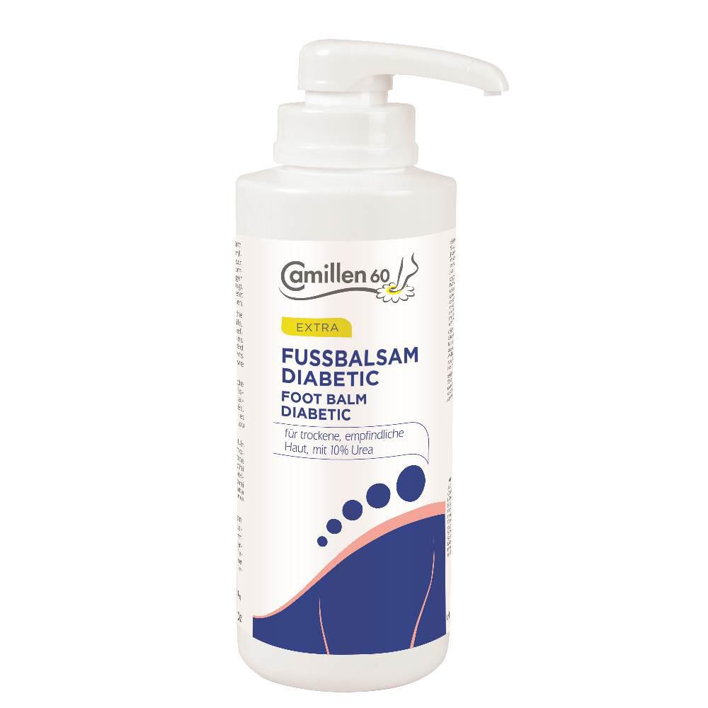 FUSSBALSAM DIABETIC 500 ml - mit Spender