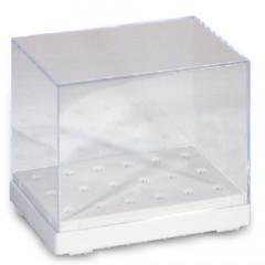Drill box, clear 84 x 56 x 71 mm
