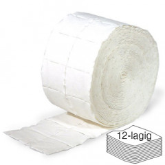 RAUE Cellulose Swabs 2 rolls of 500 pieces (12-ply)