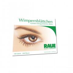 RAUE Eyelash Pads, supersoft 100 pcs