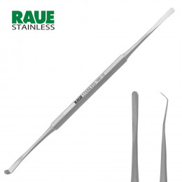 'RAUE Scraper 15 cm, Angled, Double-Ended'