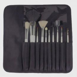 'Paintbrush-Set 10 Paintbrushes in imitation leather case'