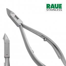 'RAUE Cuticle Nipper 11.5 cm, Cutting Edge 8 mm'