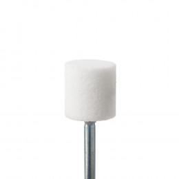 'Corundstone white, wide Ø 10.0 mm, stainless'