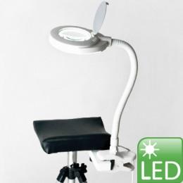 'Lupenleuchte Spectra LED mit Halter f. Beinstütze'