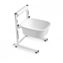 'Pedicure tub, height-adjustable'