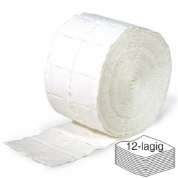 'RAUE Cellulose Swabs 2 rolls of 500 pieces (12-ply)'