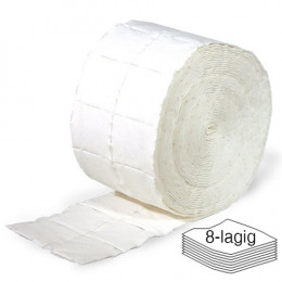 'Cellulose Swabs ECO 2 rolls of 500 pieces (8-ply)'