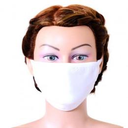 'Mund-Nasenmaske weiß, waschbar & extraweich'