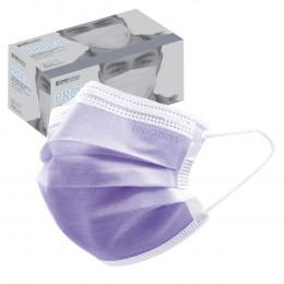 'OP-Mundschutz Profil violett, 50 Stück'