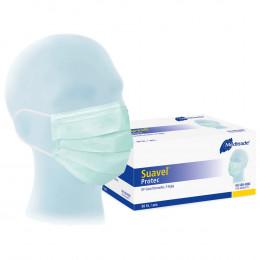 'Disposable face masks, 50 pcs. BLUE'